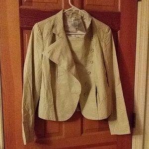 Newport news leather shorty jacket